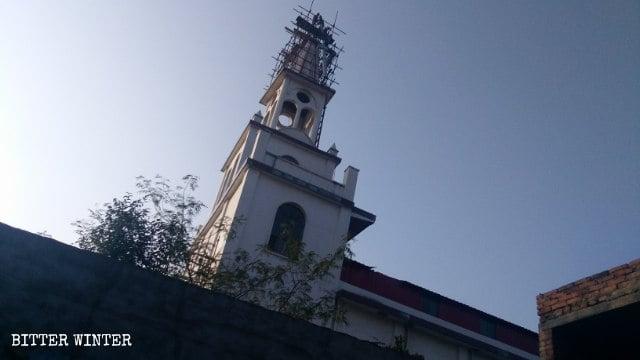 Catholicisme en Chine,Église catholique,Démolition forcée,religion chine,persécution religieuse