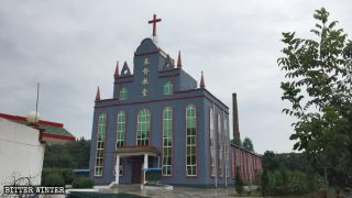 Christianisme en Chine,église protestante,Église des Trois-Autonomies,Démolition de l'église