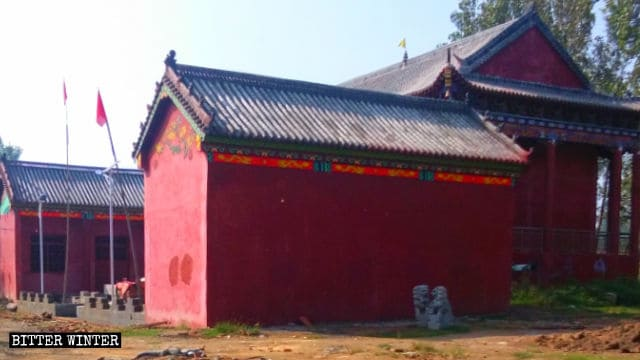 Taoïsme en Chine,Démolition forcée,destruction des temples,religion chine