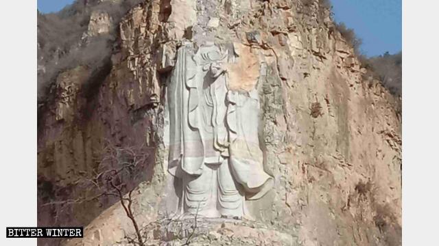 Bouddhisme en Chine,bouddhisme chinois,guan yin statue,statues bouddhistes