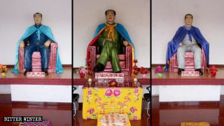 Mao Zedong vénéré comme Bouddha