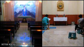 Des catholiques forcés de rejoindre l'Église étatique