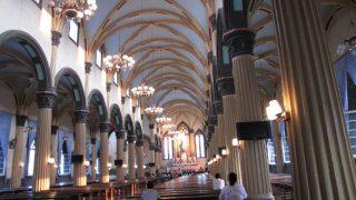L'intérieur de la cathédrale Saint-Dominique de Fuzhou
