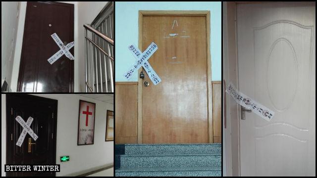Les lieux de rassemblement de la True Love Church ont été fermés.