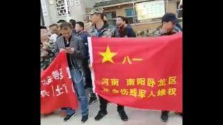Manifestation des vétérans à Pingdu : un an après…