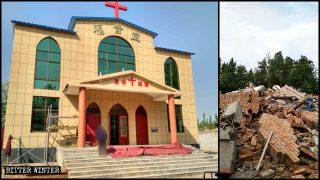 Les autorités dupent les croyants et démolissent des églises